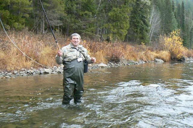 рыбалка в красноярском крае на мане