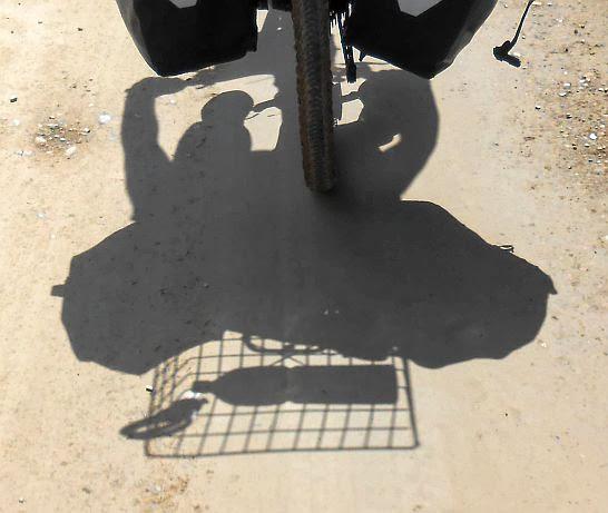 Miri: Schattenspiele mit Giant-Rad
