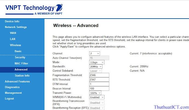 [Quản trị mạng] Các tính năng Router Wi-Fi (GW040 của VNPT) có thể bạn chưa biết? Tuy%2Bchon%2Bkenh