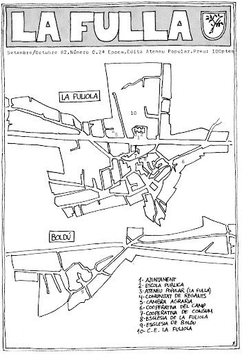 Portada de La Fulla del setembre del 82