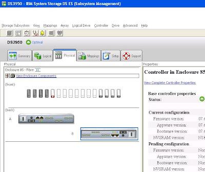 Añadir nuevos discos duros a la cabina de la SAN IBM DS3950