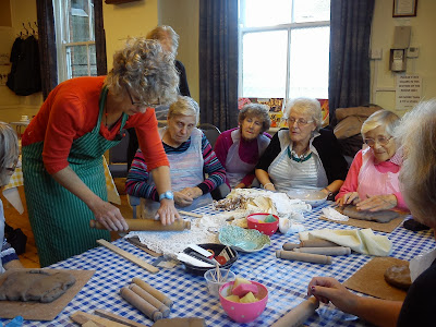 Pottery Workshop Wed 23 Oct 2013