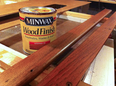 Refinishing Teak Molding Pieces