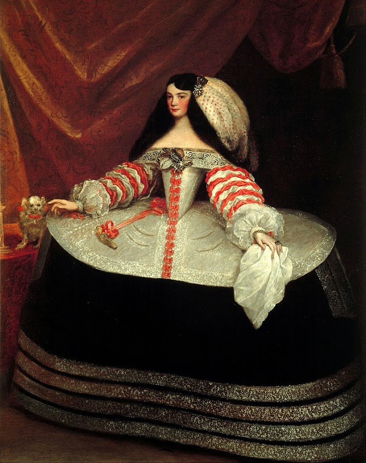 Juan Carreño de Miranda - Inés de Zúñiga, Countess of Monterrey - Google Art Project