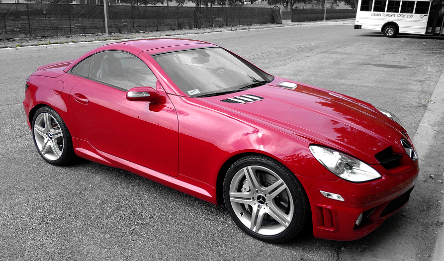 Sold 2006 slk55 amg for sale low millage mercedes for Mercedes benz slk for sale near me