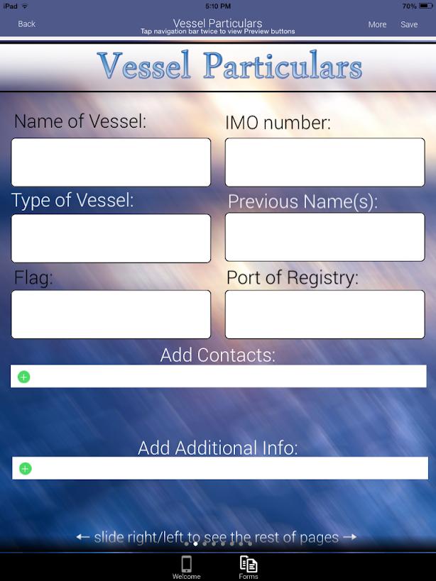 Custom Forms