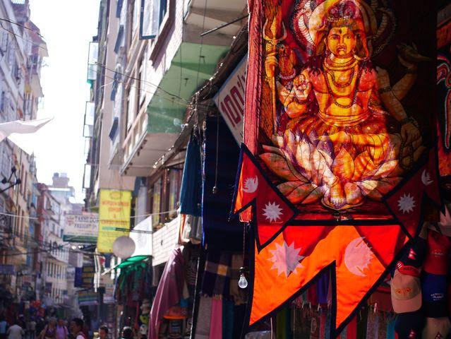 達人帶路-環遊世界-尼泊爾-臘染