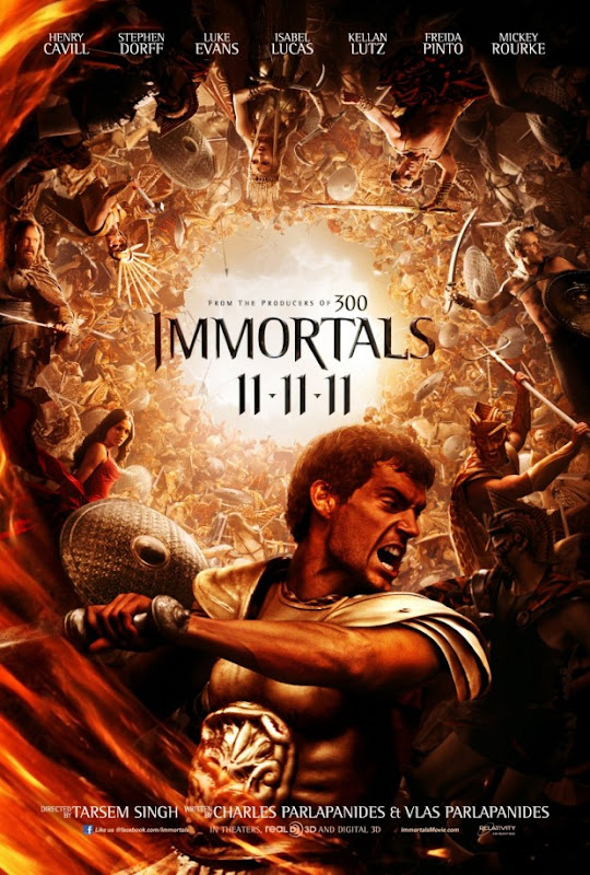 El primer Teaser de Inmortals... Alucinante