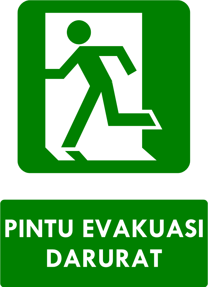 Rambu Pintu Evakuasi Darurat
