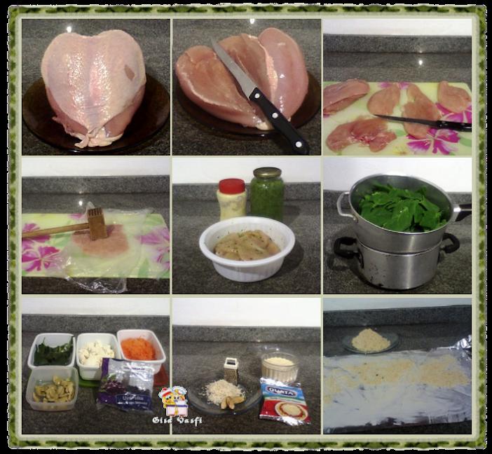 Roulade de frango com castanha do Pará 3