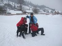 Фоторепортаж с тренинга по ньяса-йоге 12-18 февраля 2012г в Карпатах.742