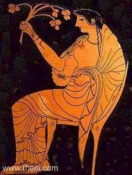 Goddess Hestia Image