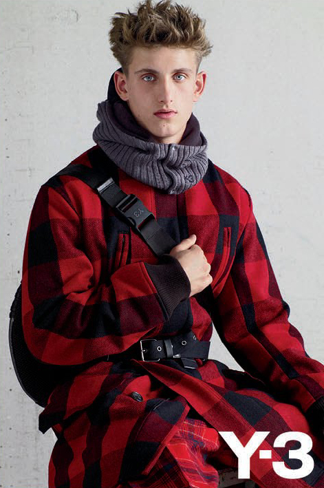 Robin Ahrens by Collier Schorr for Y-3, F/W 2011-12