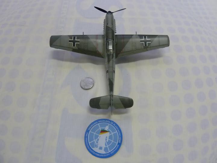 Bf-109 E-3 Tamiya 1/48 - Reforma pintura P1020658