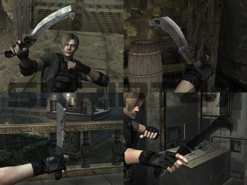 Resident Evil: Operation Raccoon City Knives