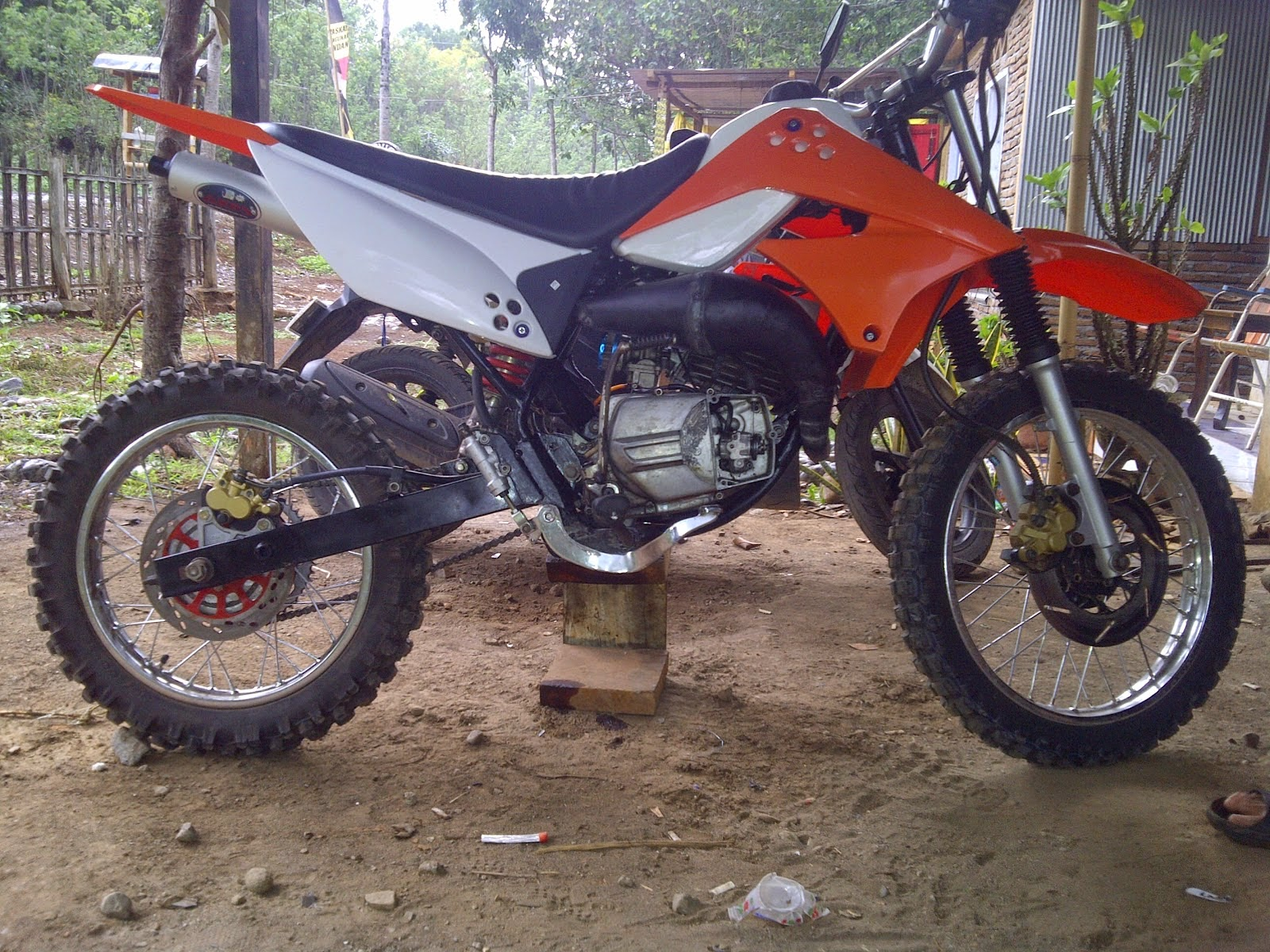 Modifikasi Kawasaki Trail Klx 250 Modifikasi Kawasaki Trail Klx
