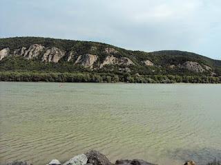 """Donau im """"Donauknie"""""""