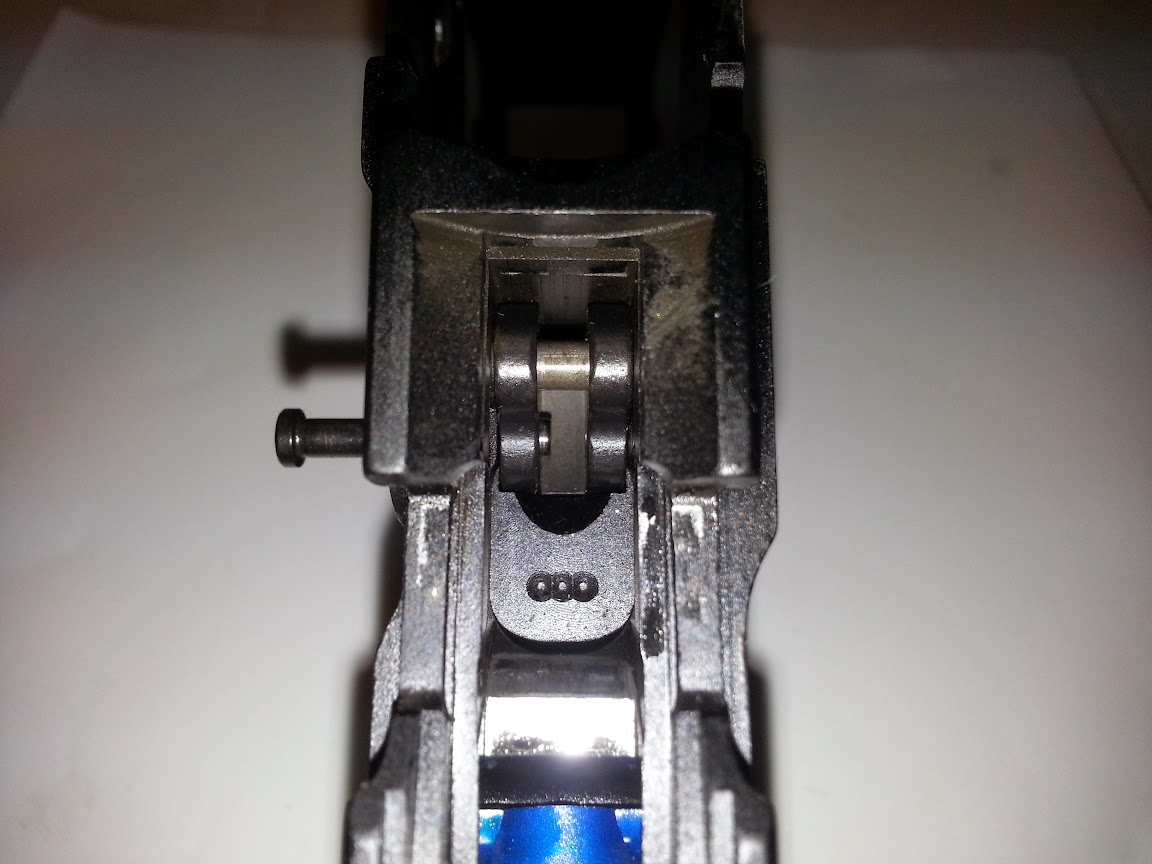 Trigger assembly without springs