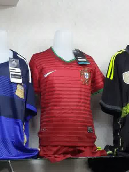 Jual Jaket Portugal Away 2014 Warna Putih