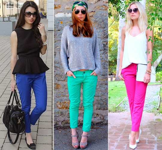 calça colorida 2014