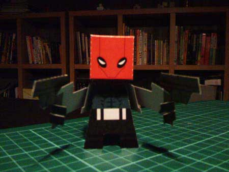Red Hood Papercraft