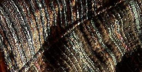 chapeau en tweed de haute-couture, création Karine L., PerleQuiRoule