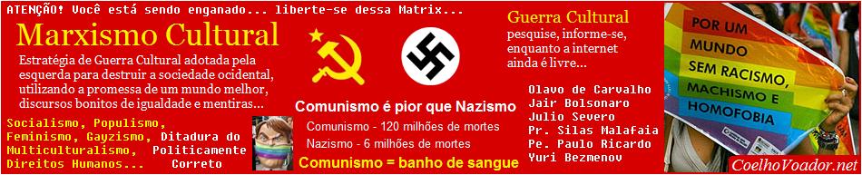 Ditadura Comunista, Feminismo, Racismo, Homofobia - Daniel Coelho