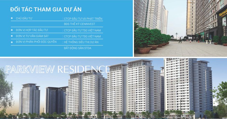 Chung cư Parkview Residence - KĐTM Dương Nội