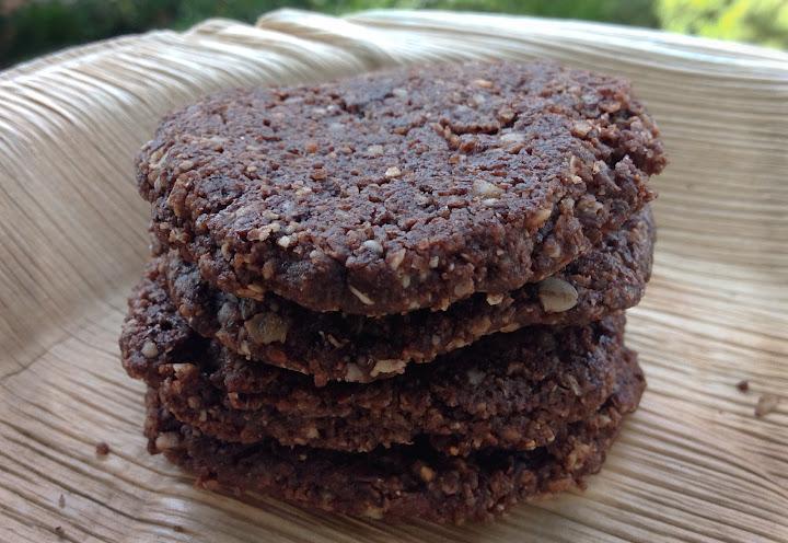 Pan Baked Hazelnut Mocha Crunch Cookies aka Tava Biskut