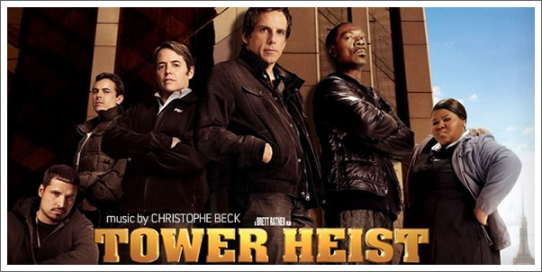 Tower Heist (Soundtrack) by Christophe Beck - Review