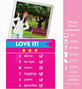 Teen Vogue Me Girl Level 31 - Fitness Shoot - Brynn - Love It! Three Stars