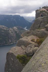 El Lysefjord en la bajada.