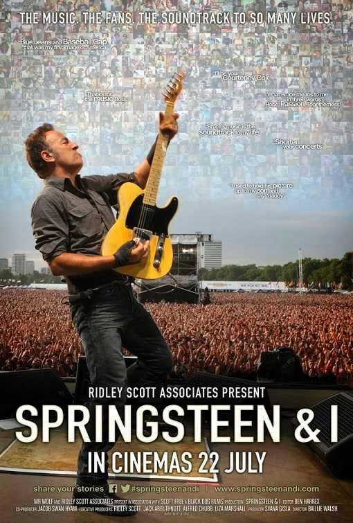 Poster Of English Movie Springsteen and I (2013) Free Download Full New Hollywood Movie Watch Online At Alldownloads4u.Com