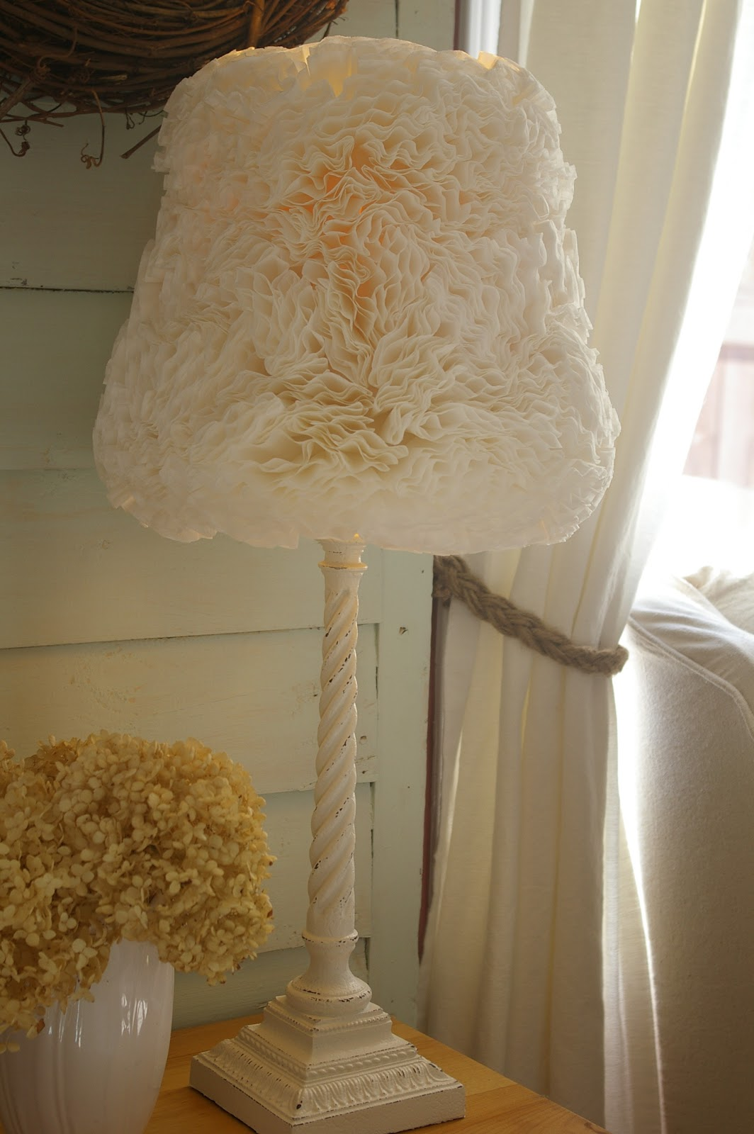 The vg huis coffee filter lamp shade aloadofball Gallery