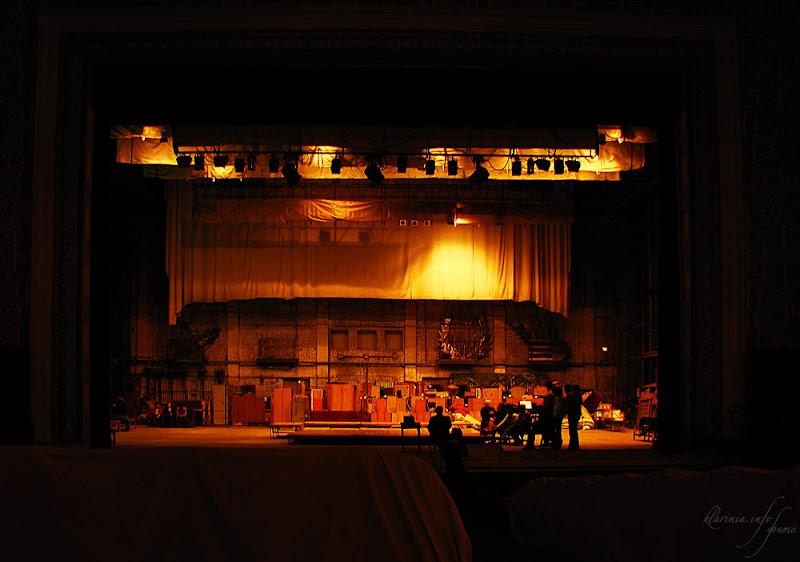 Театр Алишера Навои, Ташкент. Репетиция