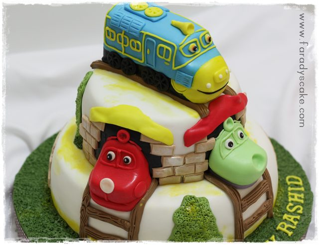 Chuggington Birthday Cake Singapore