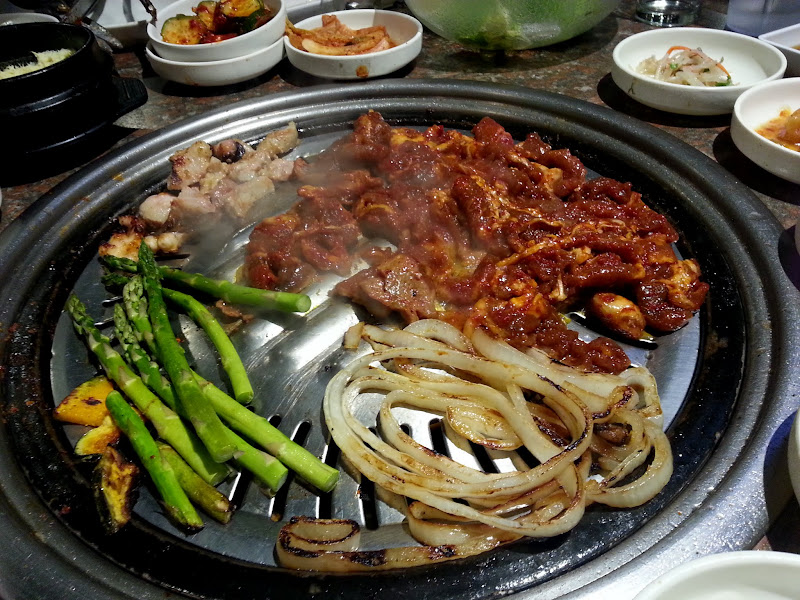 Korean Barbecue w LA