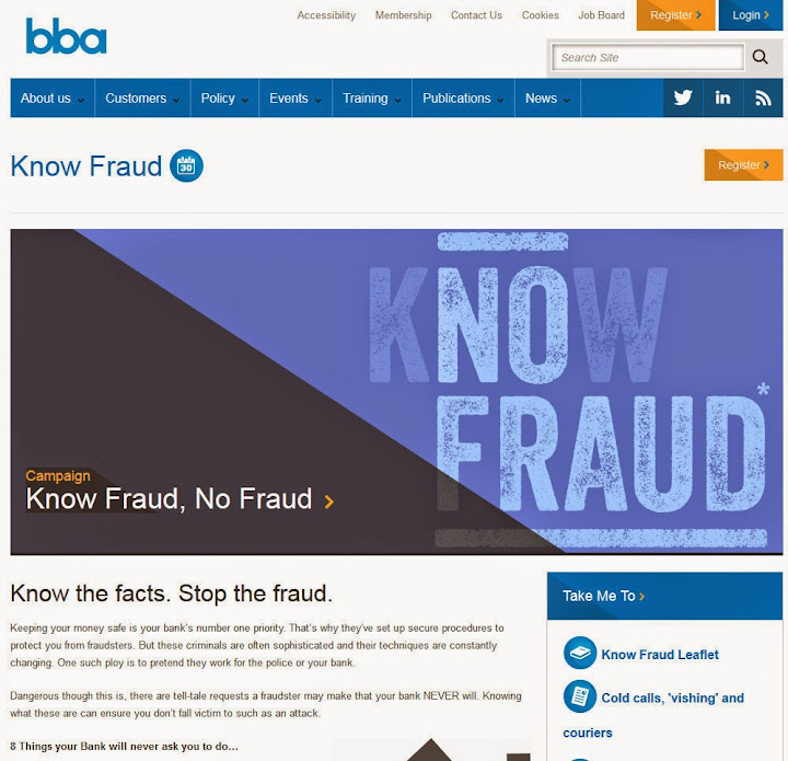 Know the facts. Stop the fraud.
