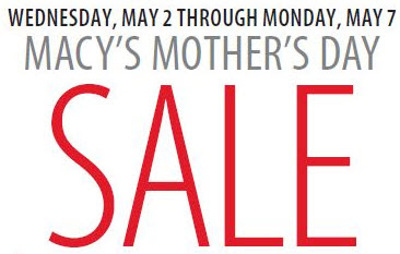 Macys mother day sale