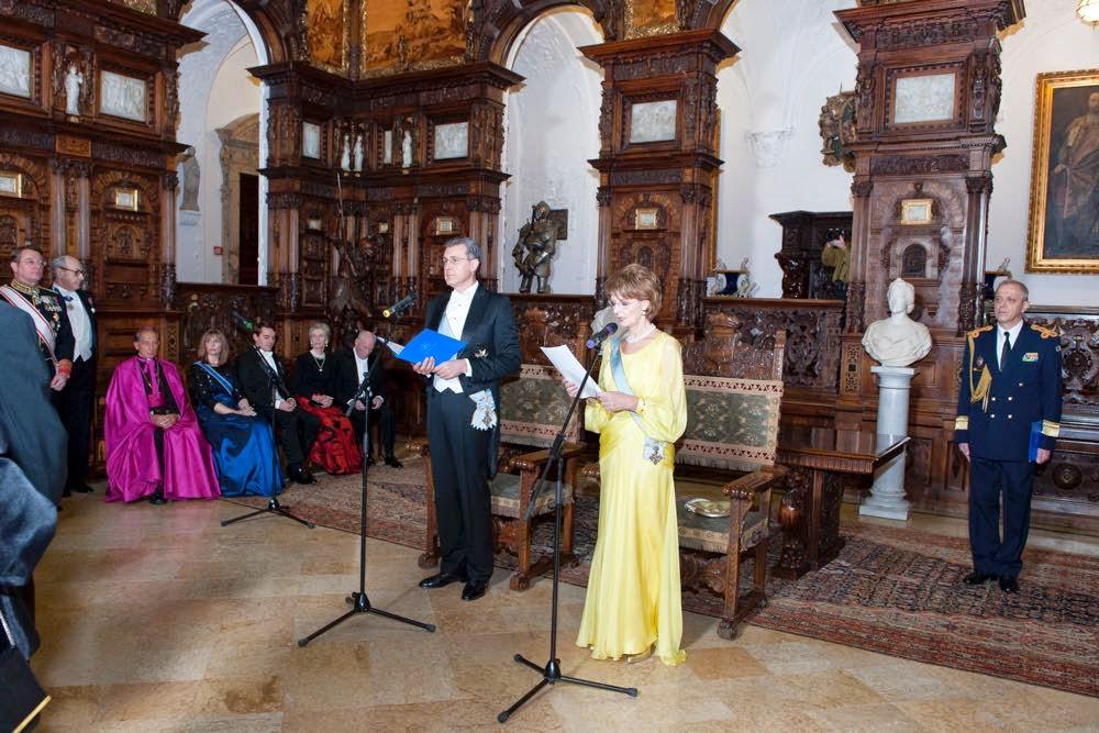 Corpul Diplomatic sărbătorit la Castelul Peleș cu ocazia Zilei Marii Uniri