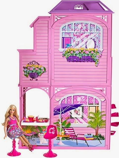 Hình ảnh bộ đồ chơi Beach house W7236 cho búp bê Barbie thật phong phú đẹp mắt
