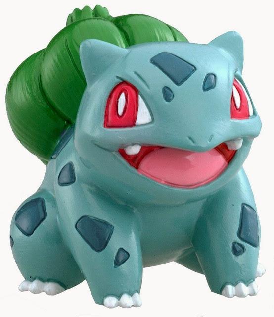 Mô hình Pokémon M-054 Bulbasaur có màu sắc sặc sỡ, ngộ nghĩnh