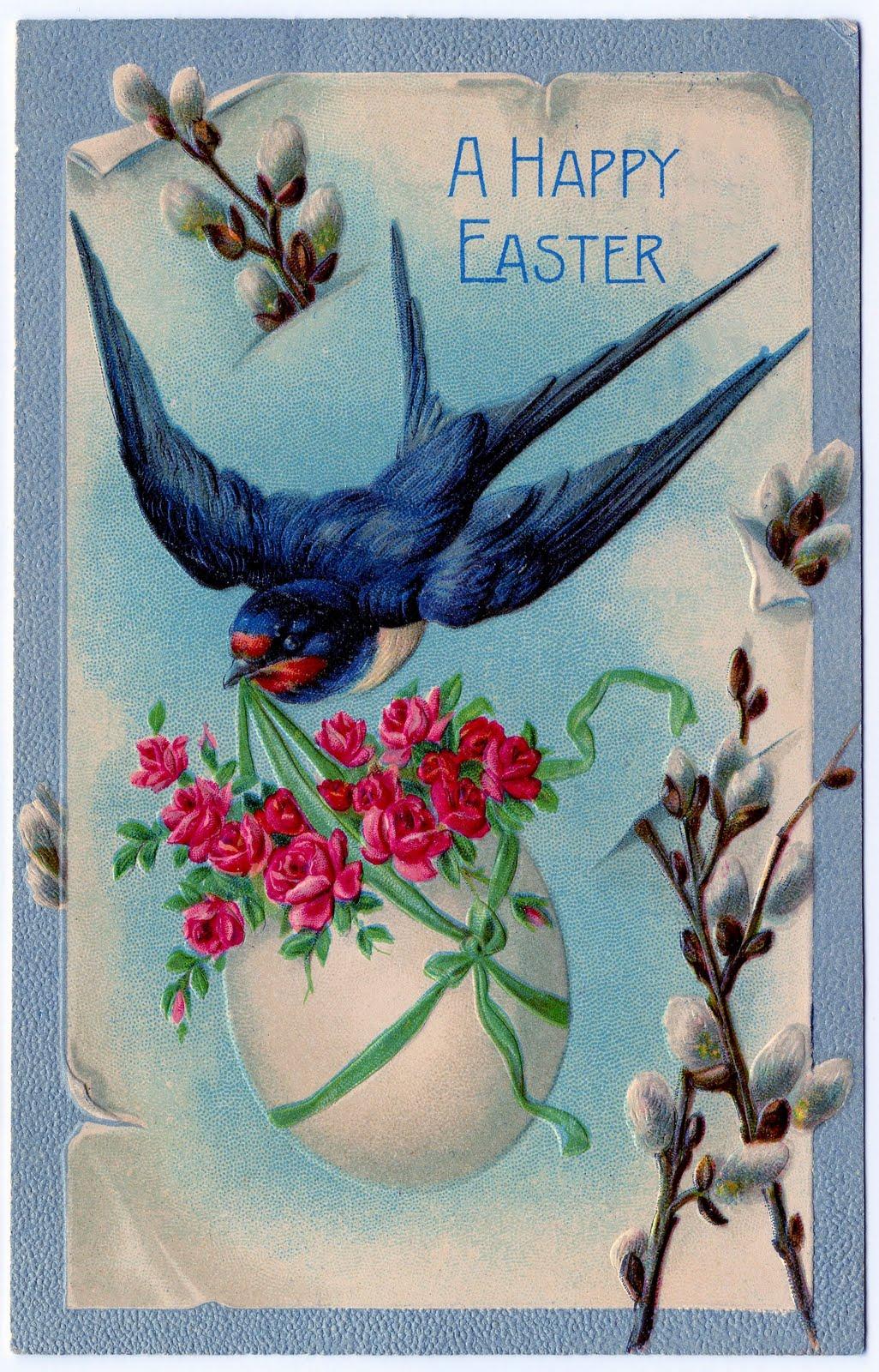 ~Damita's Pretty Wrap~: Vintage Clip Art~Easter Easter Clip Art Free Retro