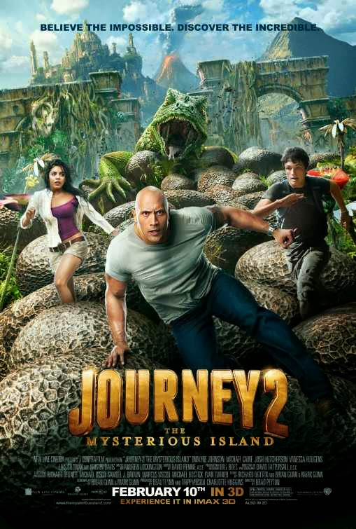 Poster Of Journey 2: The Mysterious Island (2012) Full Movie Hindi Dubbed Free Download Watch Online At Alldownloads4u.Com