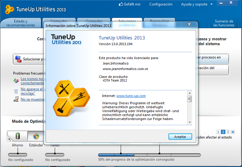 код для tuneup utilities 2013