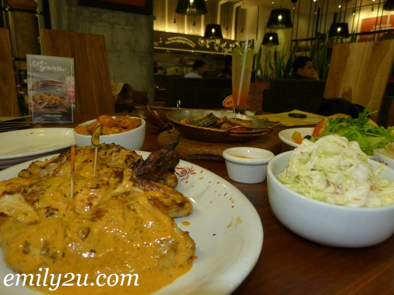 Lunch @ Nando's Ipoh