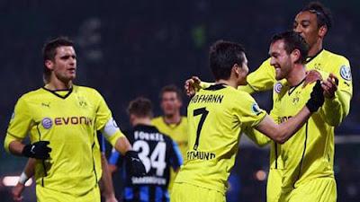 Xem lại đầy đủ trận Saarbrucken vs Dortmund