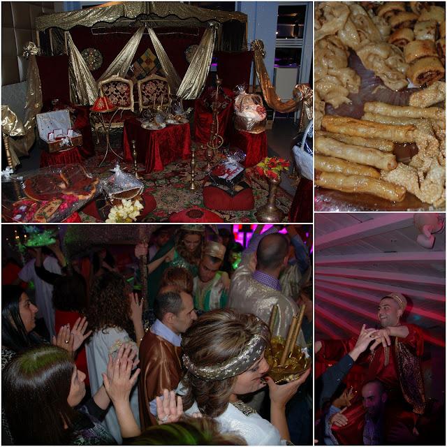 Moroccan Israeli henna ceremony