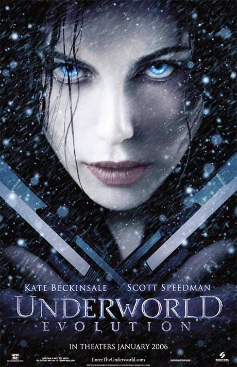 Poster Of Underworld: Evolution (2006) Full Movie Hindi Dubbed Free Download Watch Online At Alldownloads4u.Com