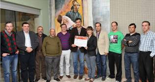 Marcha da Mulher Duriense doou 850 euros aos Bombeiros de Lamego